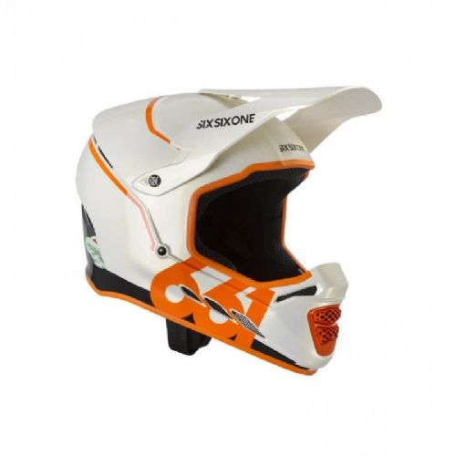 SixSixOne Reset Helmet - XS - Tropic Orange
